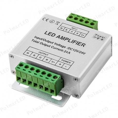V-TAC VT-2408 AMPLIFICATORE DI SEGNALE PER CONTROLLER DI STRISCE LED RGBW - SKU 3327