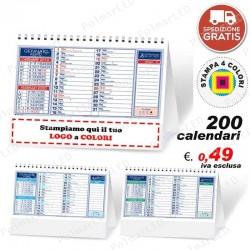 100 CALENDARI DA TAVOLO PolMar Poligrafica