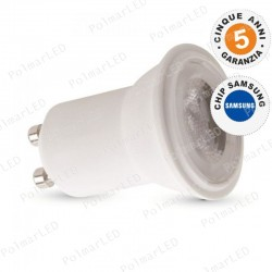 V-TAC PRO VT-232 LAMPADINA LED GU10 MR11 2W FARETTO SPOTLIGHT CHIP SAMSUNG 38° - SKU 869 / 870 / 871