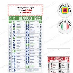 CALENDARIO MAXI QUADRETTATO - Conf. 100 pezzi