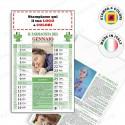 Calendario Consigli Del Farmacista - Conf. 100 pezzi
