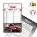 CALENDARIO ILLUSTRATO AUTO SPORTIVE - Conf. 100 pezzi