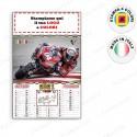 CALENDARIO ILLUSTRATO MOTO MONDIALE - Conf. 100 pezzi