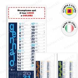 CALENDARIO PORTOGHESE - Conf. 100 pezzi