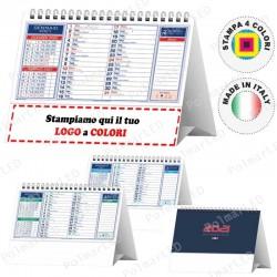 CALENDARIO DA TAVOLO STANDARD - Conf. 100 pezzi