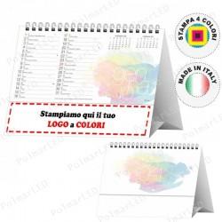 CALENDARIO DA TAVOLO DESIGN - Conf. 100 pezzi