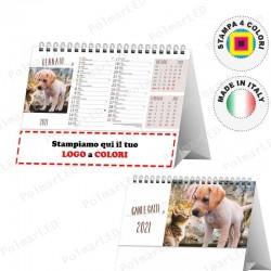 CALENDARIO DA TAVOLO CANI E GATTI - Conf. 100 pezzi