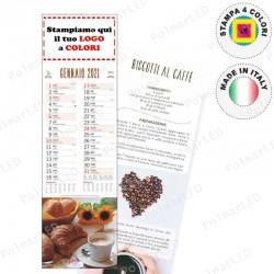 CALENDARIO SILHOUETTE DOLCI- Conf. 100 pezzi