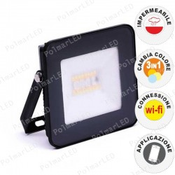 V-TAC VT-5020 FARO LED 20W CON WIRELESS SMART CONTROL RGB+W DIMMERABILE - SKU 5985