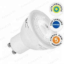 V-TAC PRO VT-291 LAMPADINA LED GU10 8W FARETTO SPOTLIGHT CHIP SAMSUNG 38° - SKU 875 / 876 / 877